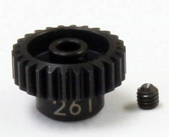 KYOUM326 Kyosho Steel Pinion Gear (26T) 1/48 Pitch