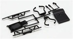KYOUM602 Kyosho Ultima SC & SCR Bumper Skid Plate and Support Set