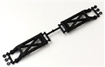 KYOUMW711B Kyosho Ultima RB6 Carbon Composite Suspension Arm Set