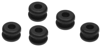 KYOVZ246 Kyosho Rubber Grommet 3mm x 7mm x 5mm - Package of 5