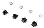 KYOVZW424-01 Kyosho Steel Differential Bevel Gear for Viscous Differential for R4, SC and SCR - Package of 4