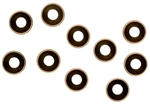 KYOW0146GM Kyosho M3 Flat Head Washer Gunmetal - Package of 10