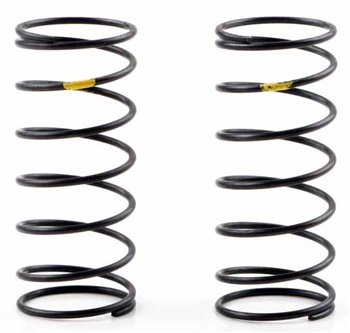 KYOXGS005 Kyosho Front Big Bore Shock Spring Yellow Hard - Package of 2