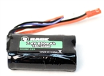 RGRB1329 7.4V 2S 850mAh Battery w/ JST Connector: Eclipse