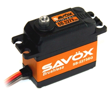 SAVSB2273SG High Voltage Brushless Digital Servo 0.095/388.8 @ 7.4V