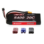 VNR15008 DRIVE 20C 2S 5400mAh 7.4V LiPo Battery with UNI 2.0 Plug