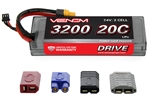 VNR1553 DRIVE 20C 2S 3200mAh 7.4V LiPo Hardcase Battery with UNI 2.0