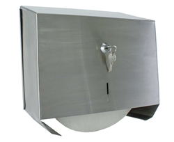Locking Jumbo Toilet Paper Holder
