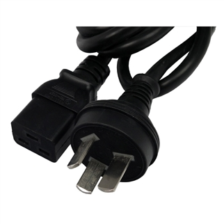 SLPP12C08-01 - Power cord: IEC60320/C19 to CHINA/GB (CHINA), 8 Ft.