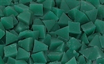 Plastic Media | Green Pyramids (X) | 1/4""