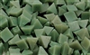 Plastic Media | Light Green Pyramids (V) | 1/4""
