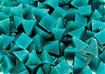Plastic Media | Brown Pyramids (color is now blue) (XV) | 1/4""