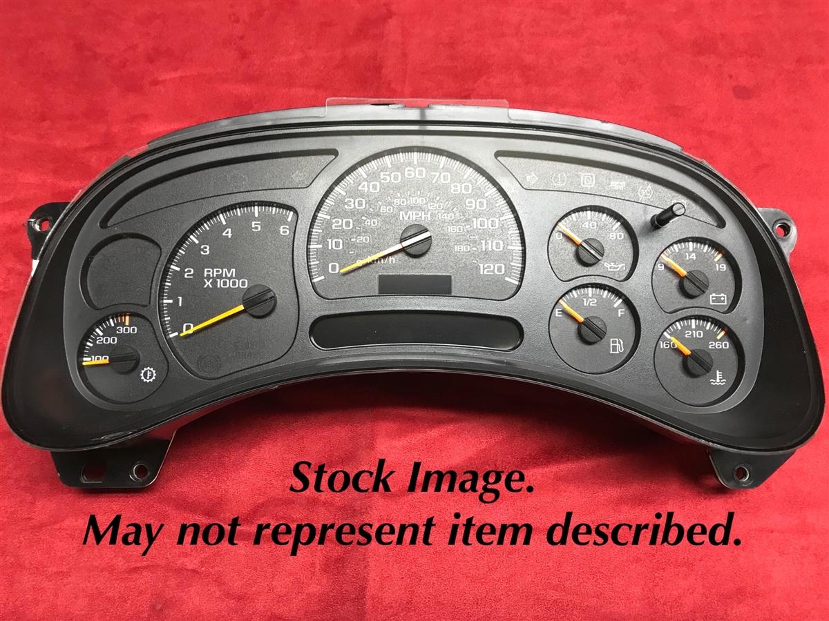 2003 chevy silverado 1500 dash cluster