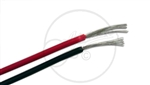 "Pot wire 60"" Highly insulated Cable, in a Red and Black sleeve."