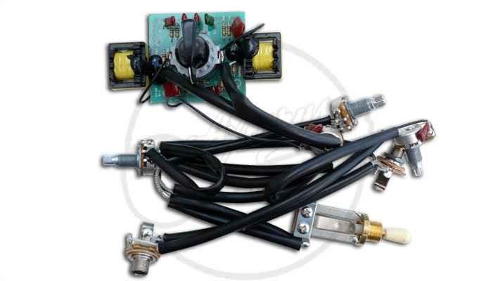 Epiphone U00c2 U00ae  U0026quot Lucile U0026quot  Wiring Loom