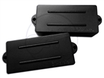 "DiMarzio ""Split P"" Bass Pickup - Set - Black"