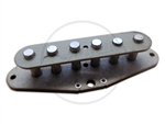 Single Coil Pickup Parts Kit - Grey Fiber