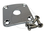 Square Jack Plate - Curved - Chrome