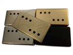 Humbucker Sizd P90 Cover - German Silver / Nickel