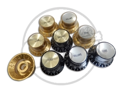 4 x Gibson Styled Top hat knobs - 2 vol 2 tone