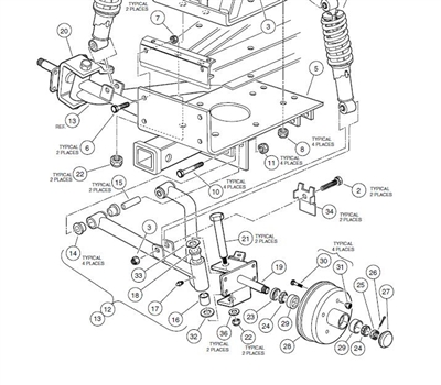 club car wiring diagram for signal lights