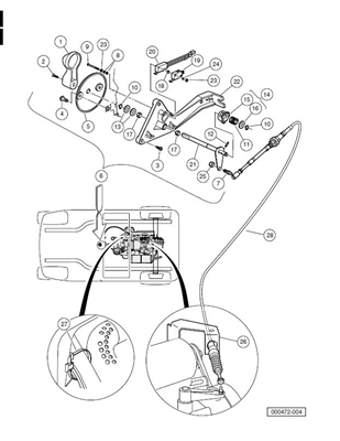 601910 also 12v Golf Cart Wiring Diagram also Kubota Glow Plug Relay Location in addition 6 Volt Gauge Wiring together with 20310 Gas Club Car Diagrams 1984 2005 A. on gas club car voltage