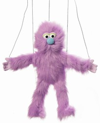 Purple Monster Marionette