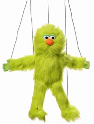 Green Monster Marionette