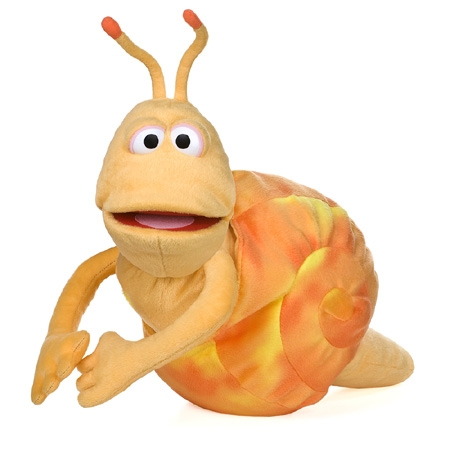 Snail in Shell Puppet