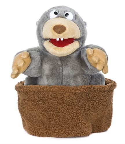 Mole on Hill Puppet