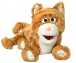 Orange Kitty Puppet