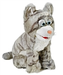 Gray Kitty Puppet