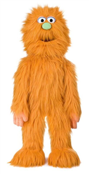 Orange Monster - FullBody Puppet