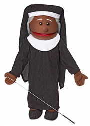 Nun Full Body Puppet w/ Black Skin