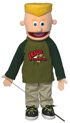 Jesus Is My Superhero Full Body Puppet