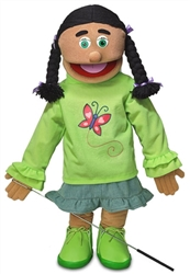 Jasmine (Hispanic) - FullBody Puppet