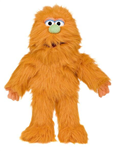 Orange Monster Glove Puppet