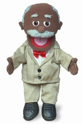 Pops (Black) Hand Puppet