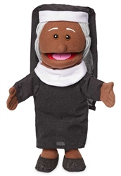 Mary Hand Puppet w/ Black Skin