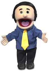 George - Dad / Business Man Puppet