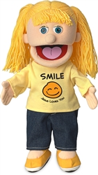 Smile Jesus Loves You Hand Puppet