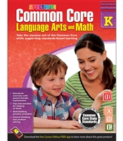 Common Core Language Arts and Math Grade K