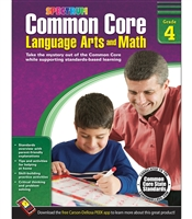 Common Core Language Arts and Math Grade 4