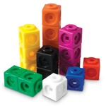 Interlocking Math Cubes