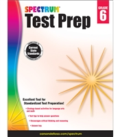 Spectrum Test Prep Grades 6