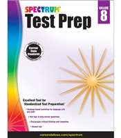 Spectrum Test Prep Grades 8