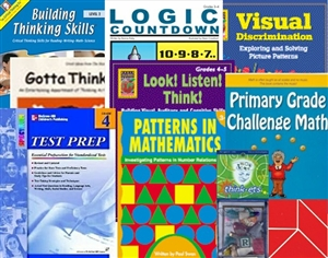 GATE Test Prep and Enrichment Bundle for Grade 3