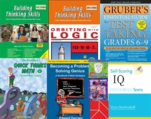 GATE Test Prep Bundle for Grade 6