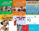 GATE Test Prep Bundle for Grade 8-9