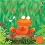Frog on a Log Board Book